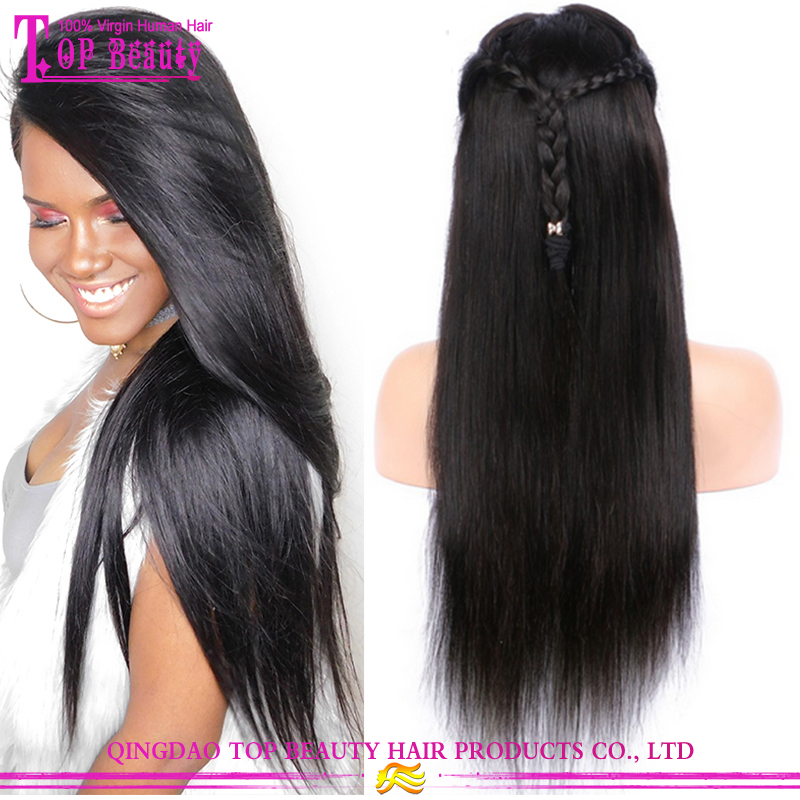 Wish Shopping Online Unprocessed Straight Hair Wigs 100