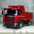 Brand New JOYCITY 1 43 Scale Truck Model Toys Sweden Scania Dump Truck Diecast Metal Car