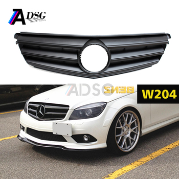 Mercedes C Class W204 Front Bumper Abs Grill - Buy C Class W204 Front  Bumper Mesh Grill,W204 Front Bumper Grille,W204 2007 - 2014 Bumper Grill  Product