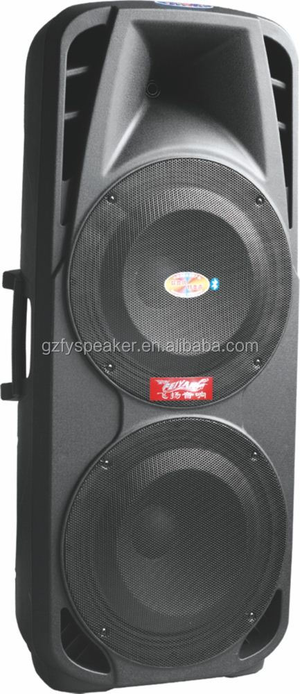 feiyang super bass 15 inch portable bluetooth speaker RMS 150W with built-in battery