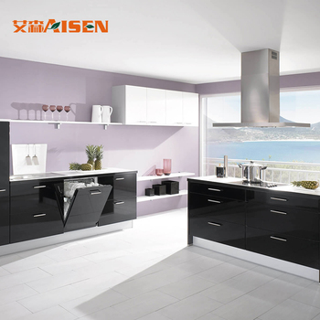 2018 China Source Brands Modular Kitchen Designs With