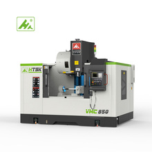 Quatre axes VMC850 D'usinage Vertical Menter Fraiseuse CNC Pour L'industrie De Guerre