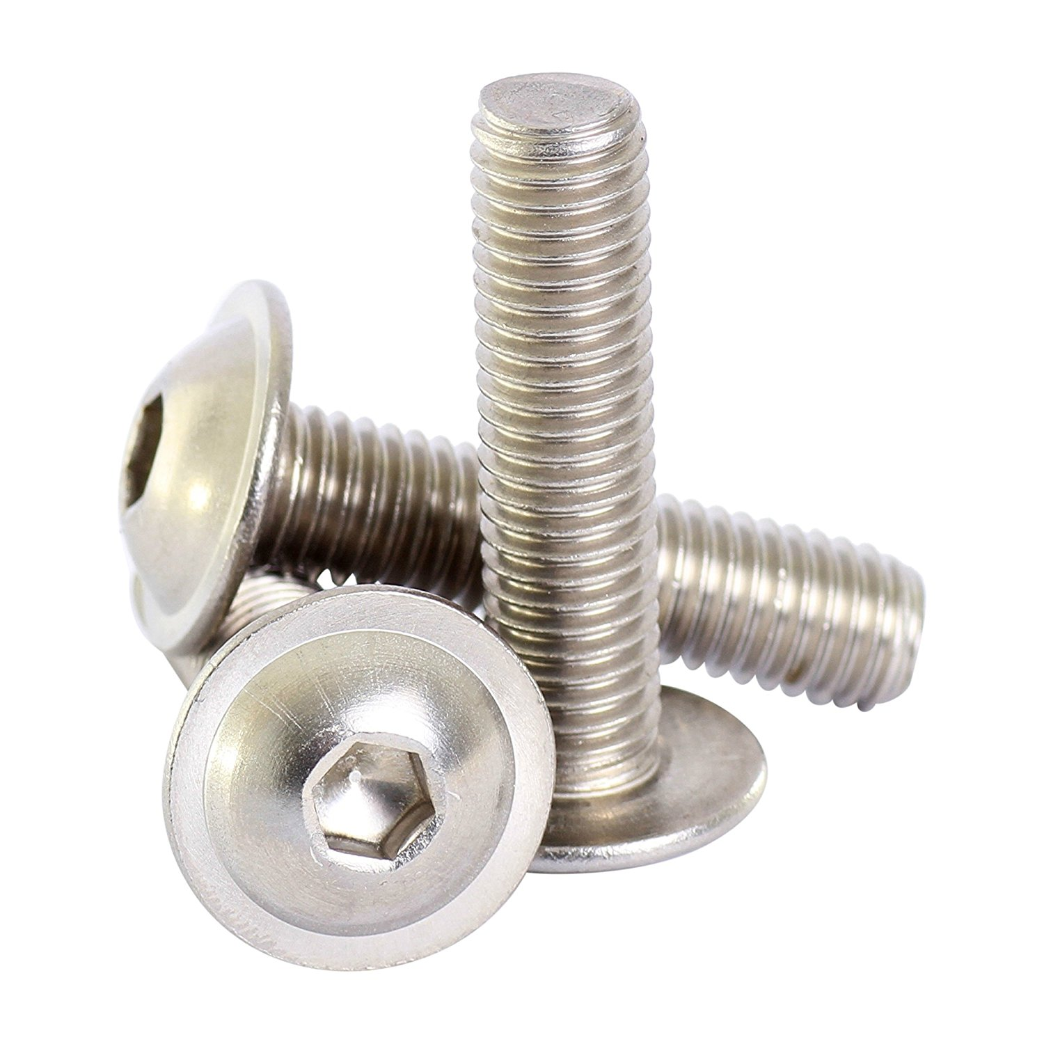 and Economy Slide-in T-Nut Bolt Assembly: 5//16-18 x .687 Flanged Button Head Socket Cap Screw FBHSCS 80//20 Inc 15 Series 12 Pack 3320