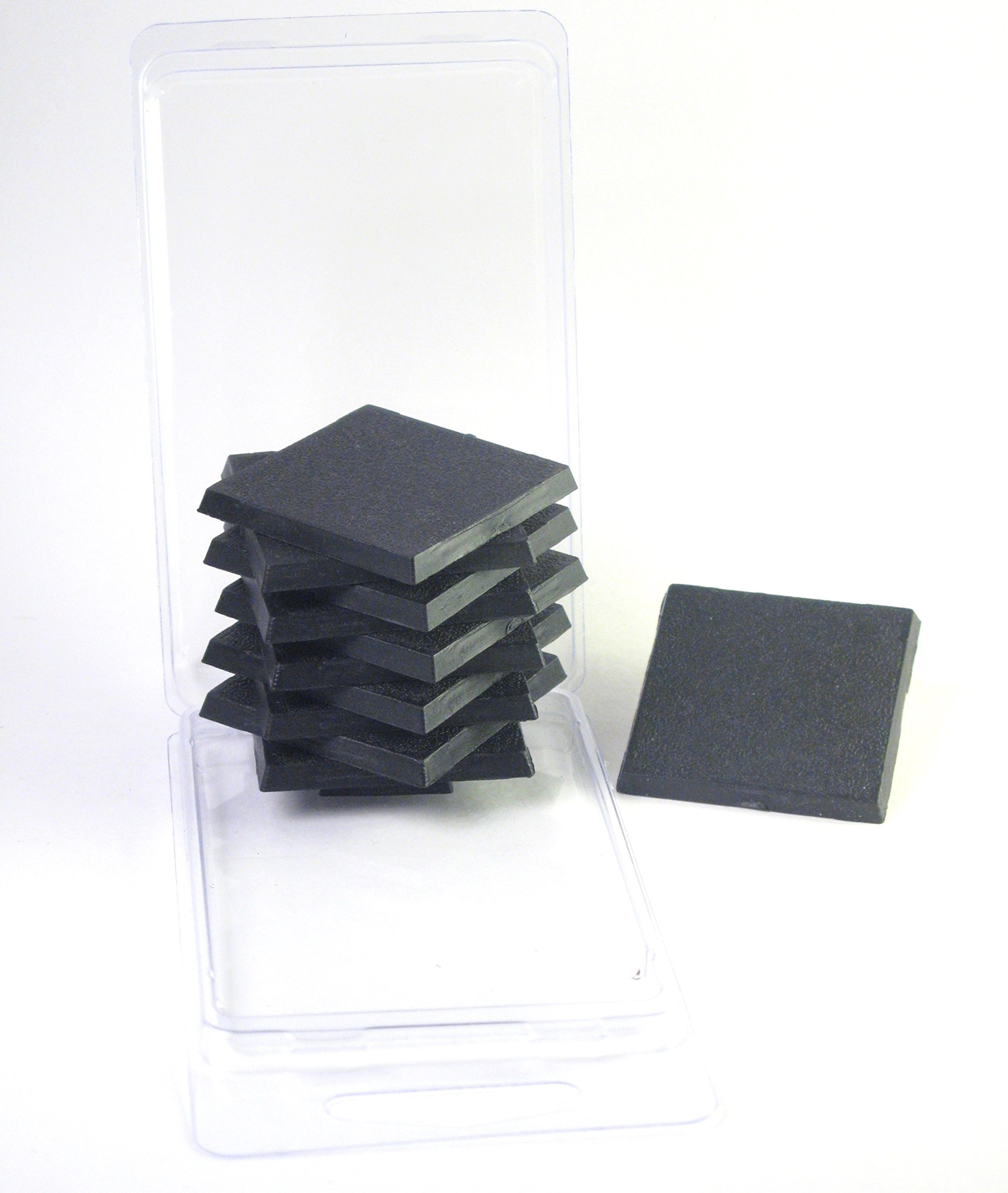 Value Pack of 10-32MM Round Miniature Flying Model Bases with Flight Stems for TableTop or Miniature WarGames