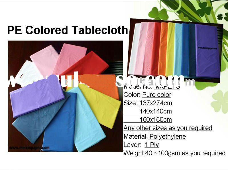Disposable PE Tablecloths