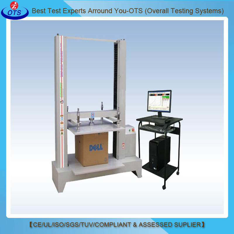 Electronic Servo Motor Box Compression Test Machine Carton Compression Strength Tester
