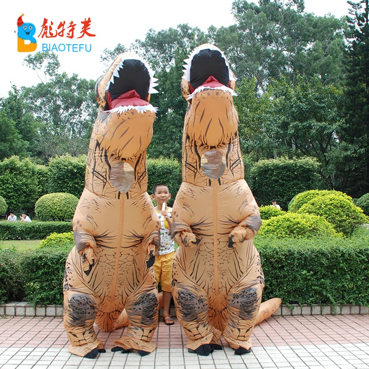 waterproof inflatable dinosaur realistic costumes