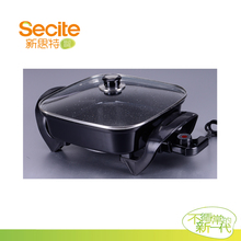 2015 Multi function Korean 12inch square Electric frying Pan for cooking