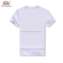 Wholesale 100% Cotton Mens Plain Cheap White T Shirts In Bulk