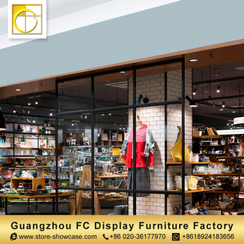 942c814fa5a professional manufacturer custom clothing shop furniture garment shop  interior design ladies clothes shop counter table design