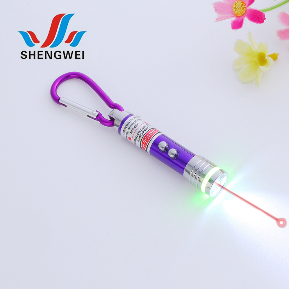 Night lighting wireless 5 patterns laser pointer pen with led