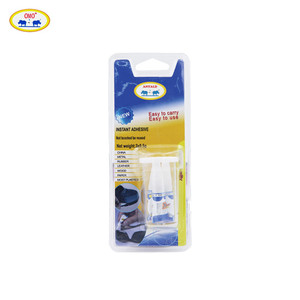 OEM Accepted 3PCS Pack High Performance 0.5g Liquid Super Instant Adhesive Mucilage Glue