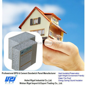 Eps cement sandwich panel composite building block