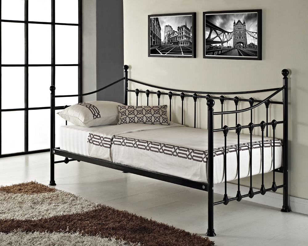 Uk Style 3ft Single Metal Day Bed Frame Metal Sofa Bed Buy Day Bed