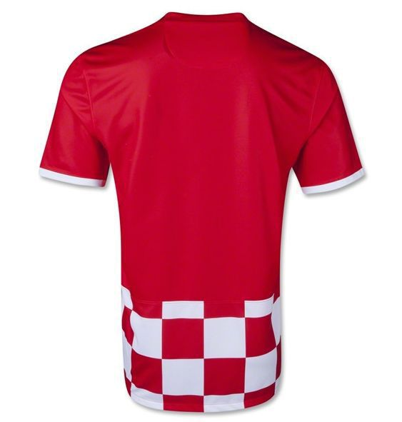 4ff1b7c33 ... new zealand get quotations 2014 croatia home red soccer jerseys 1415  mandzukic 17 modric 10 camiseta