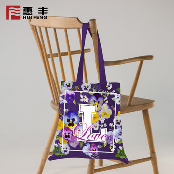 Guangzhou Manufacturers Eco Sublimation Tote Bag Printing