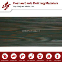 Colored exterior siding cement board