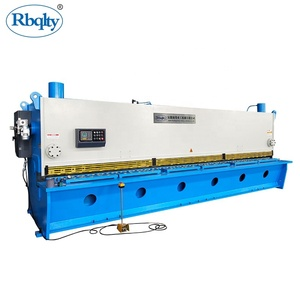 Factory direct sell hydraulic guillotine types of shearing machine
