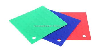 Silicone Rubber Hot Pads / Pot Holder/ Trivet Mat    Durable, Heat Resistant