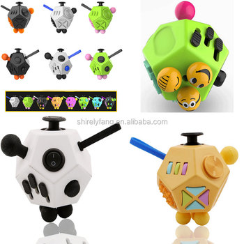 2017 New Magic Fidget Cube Generation 2 Fidget Cube Strange Shape ...
