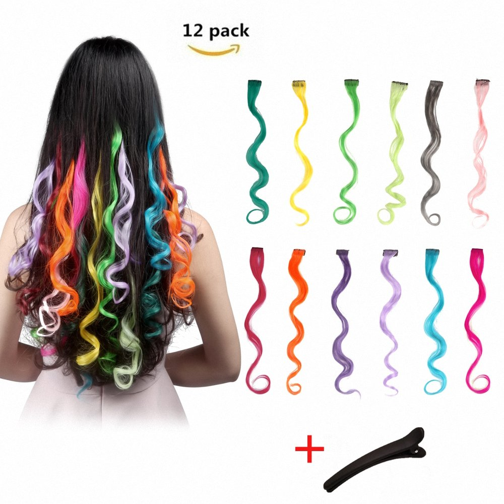Cheap Color Hair Extensions For Kids Find Color Hair Extensions For