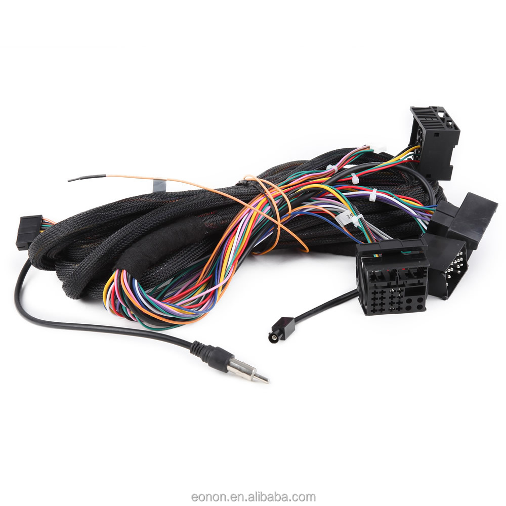 Eonon A0577 17 Pin+40 Pin Extended Installation Wiring Harness For Bmw  Ga6150f/ga6166f/ga6201f - Buy A0577 Wiring Harness For Bmw,A0577 12 Pin+40 Pin  Wiring ...