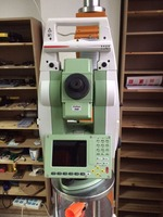 Used total station TS12 Robotic surveying instrument