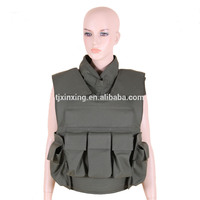Level IIIA military used kevlar bullet proof vest tactical