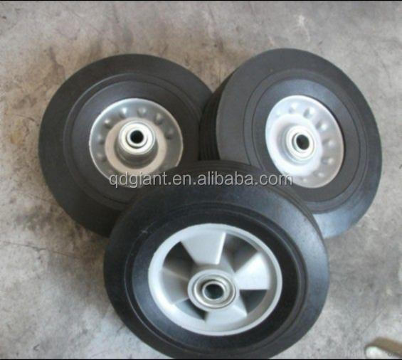 concrete mixer small solid wheels 8x2