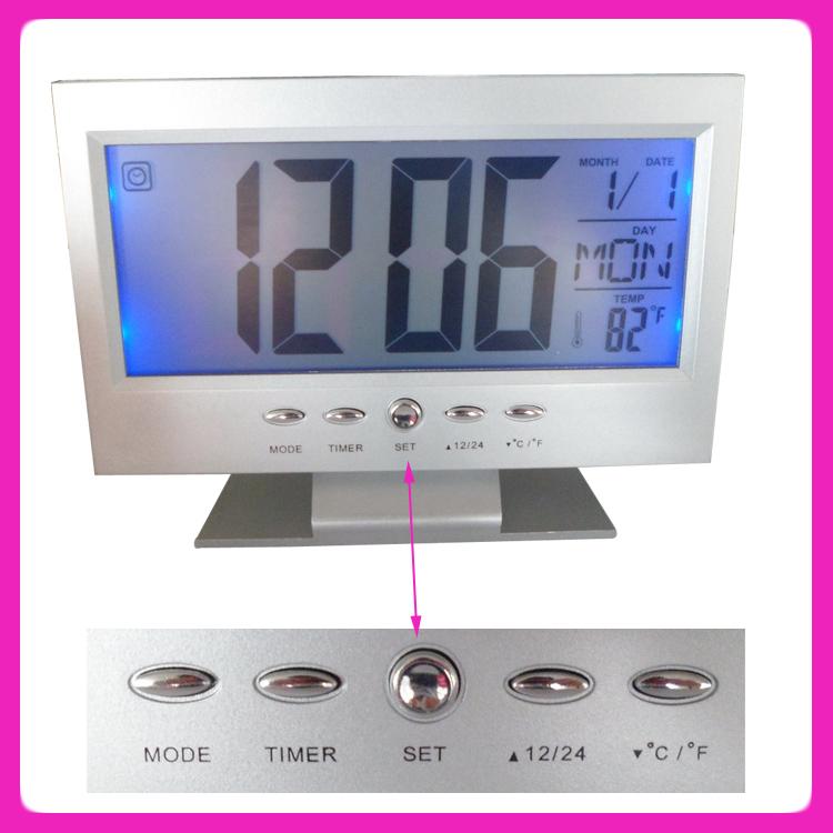 Talking Alarm Clocks For Adults Spanish Talking Clock