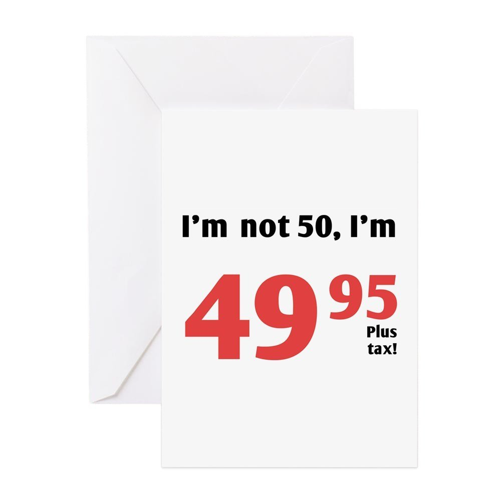 Cheap 50th Birthday Greeting Find 50th Birthday Greeting Deals On