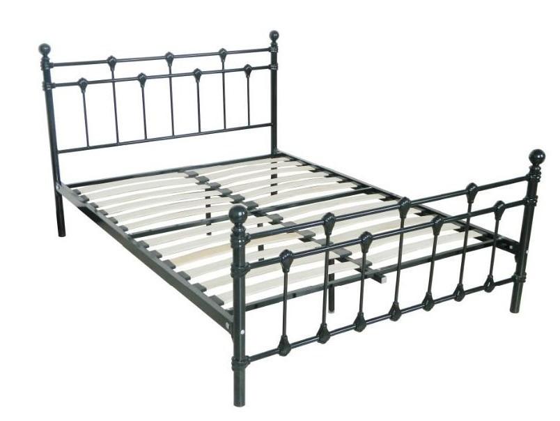 European Style Queen Size Metal Double Bed Frame - Buy Bed,Queen Bed ...
