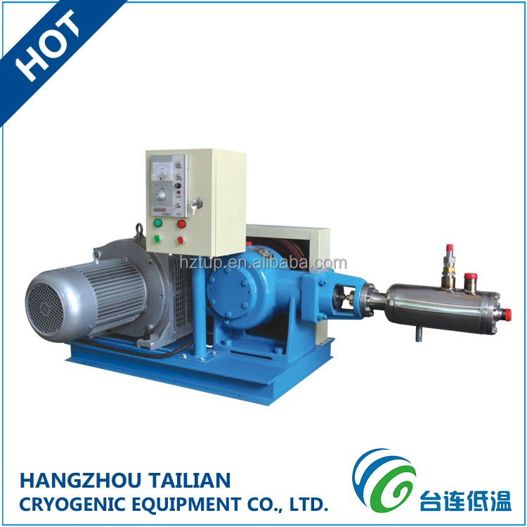 OEM High Flow Cryogenic LNG/LO2/LN2/Lar/LCO2 Filling Pump