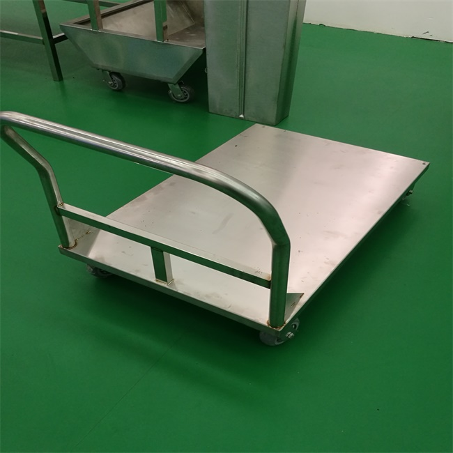 Restaurant industrial warehouse heavy duty stainless steel trolley