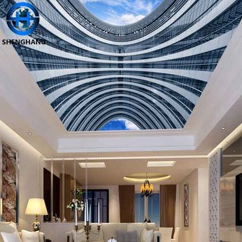 3d Wallpaper Ceiling Mural Apply To Any Place You Want High Quality Low Price China 3d Wall Paper Buy 3d Wallpaper Wall Paper 3d Effect China 3d