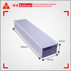 DHL express wholesale 6000 series T3-T8 free sample Al 6063 aluminum extrusion / extruded profile