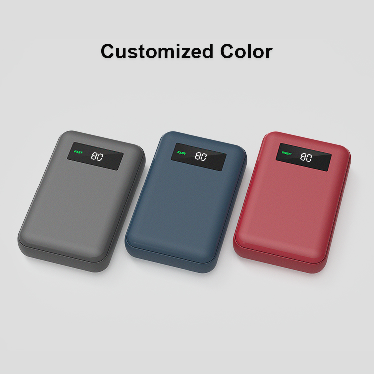 2020 latest logo custom 18W PD function super fast charging power banks 10000mAh
