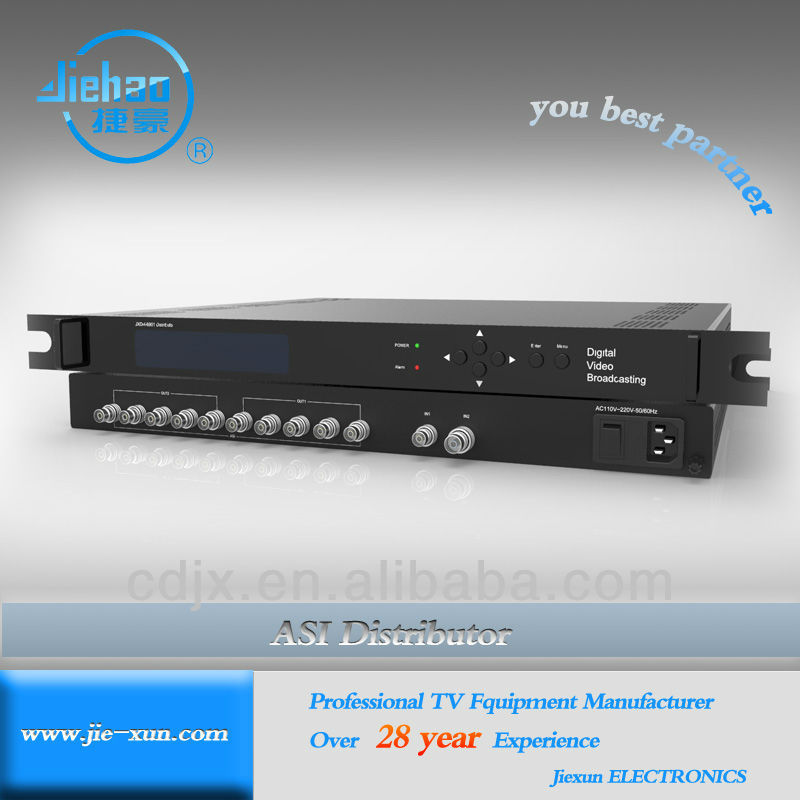 1 to 12 Channel TS Distributor for EPG