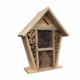 Two tier Bee cage insect house handmade wooden bee hotel