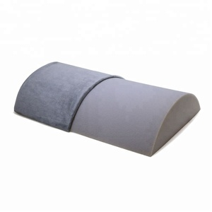 Under Desk Footrest High Density Foam Cushion with Non-Slip Base and Soft Plush Cover