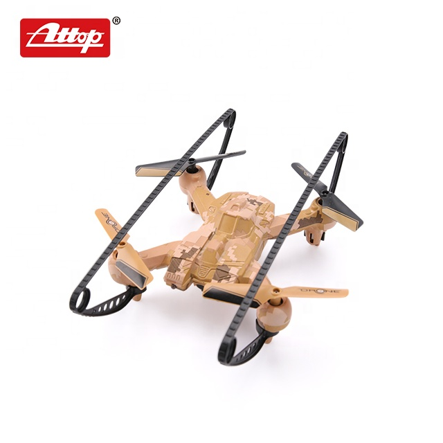 Attop A16 2,4G inteligente luchando rc quadcopter drone mini juguete con caja de color