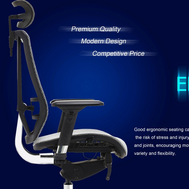 Medium back office chair function chair synchronized office chair