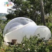 outdoor inflatable bubble lodge camping tent