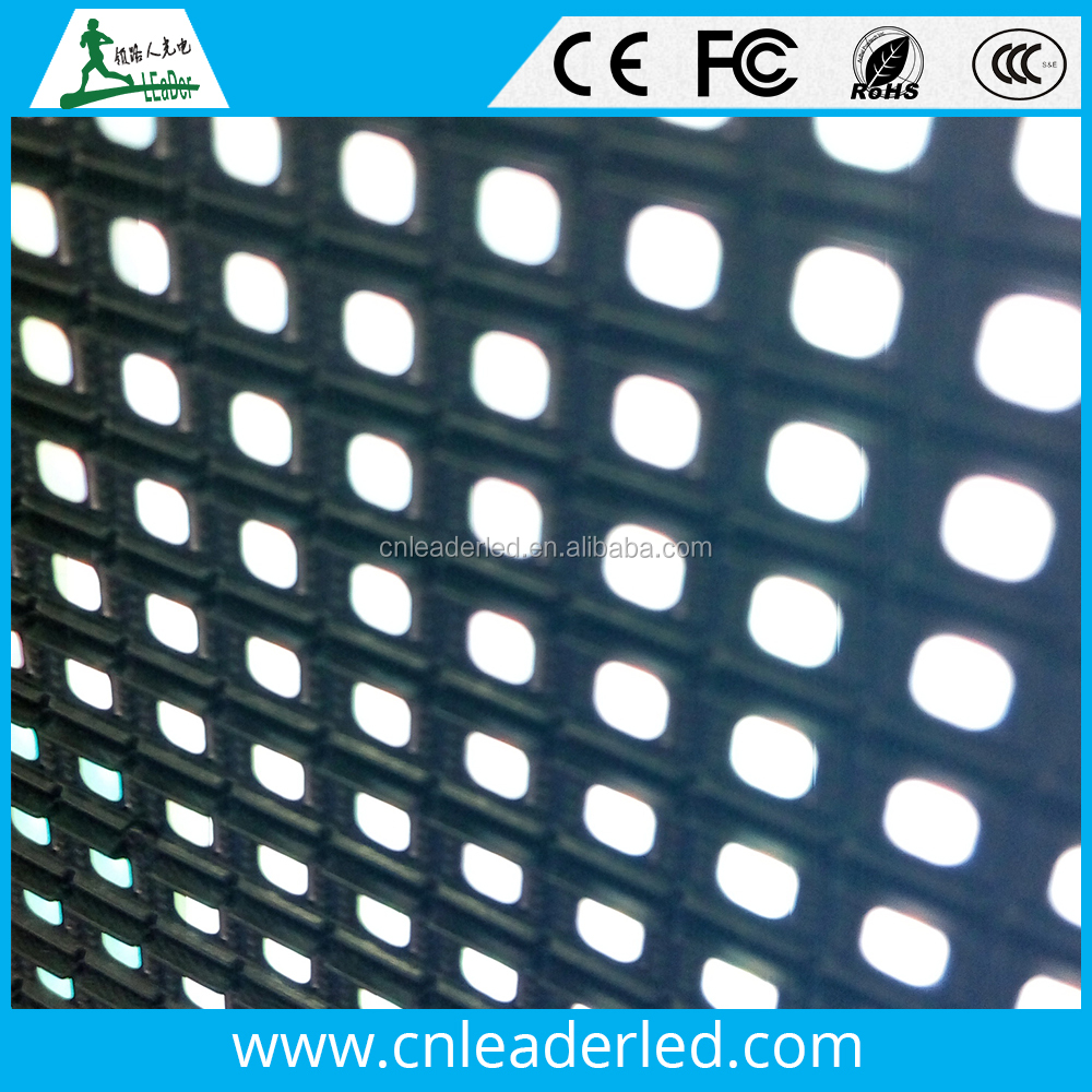 Leader led rgb display outdoor module p6