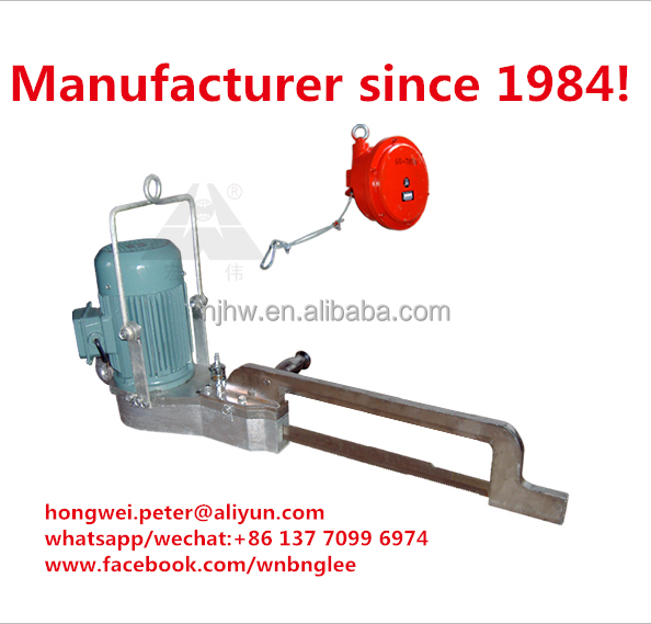 Abattoir slaughter machinery cattle half carcass splitting saw cattle splitting machine cow cutting machine