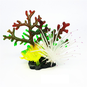 Unique Betta Fish Tank Aquarium Accessory Type Decoration Artificial Coral