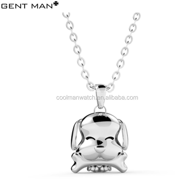 Puppy Series 316 L Stainless Steel Silver Plating Jewelry Sets with Pendant Ring Bangle Earrings