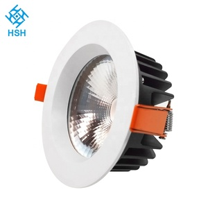 CE RoHS SAA certified recessed free shipping smd cob 30w liper led downlight