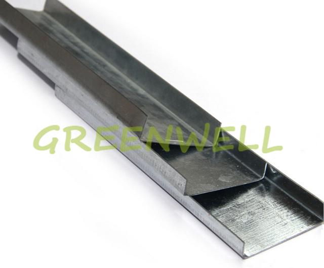 U Shape Building Material Galvanized Sheet Metal Channel