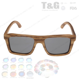 cheapest wooden sunglasses Flat top square wooden sunglasses shades changeable lens eyewear